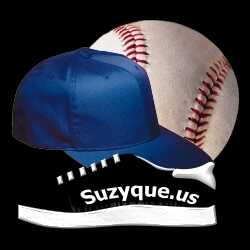 Baseball, Cap, and Sneaker Suzyque Style